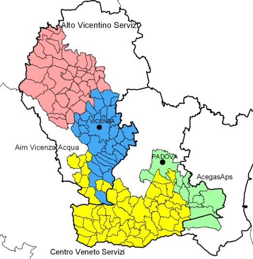 Mappa Enti gestori