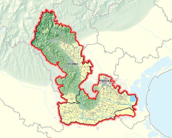 Territorio AATO Bacchiglione